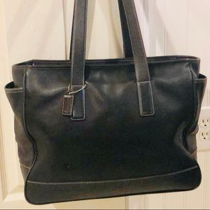 Coach Extra Large Leather Shopper Tote, Travel Bag